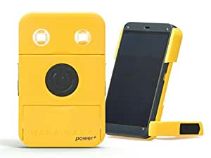 WakaWaka Power+ Solar-Powered Flashlight + Charger, Yellow