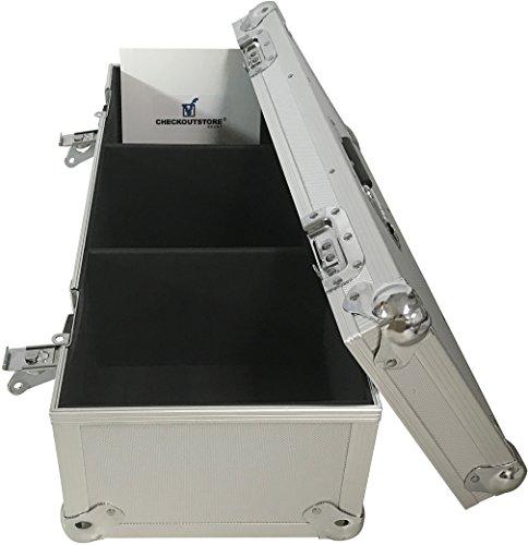 Record Case Holds (CheckOutStore (1) Aluminum Heavy Duty 7