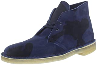 Clarks Men's Desert Boot,Navy Camoflage,11 M US (B0074D3EF4) | Amazon price tracker / tracking, Amazon price history charts, Amazon price watches, Amazon price drop alerts