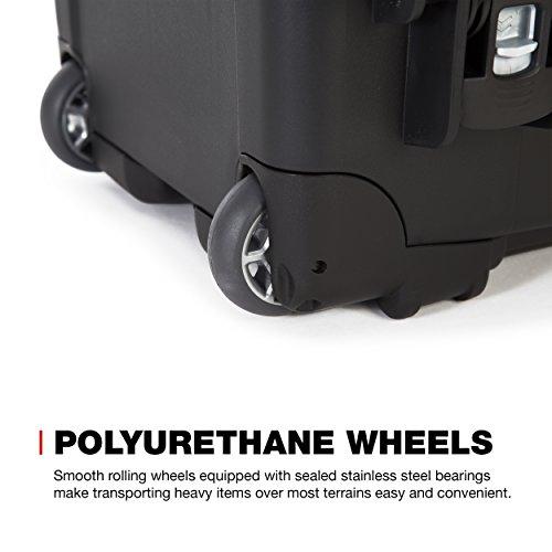 Nanuk 935 Waterproof Carry-On Hard Case with Wheels and Foam Insert - Black by Nanuk (Image #5)