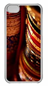 Customized iphone 5C PC Transparent Case - Colors Of Bengals Personalized Cover