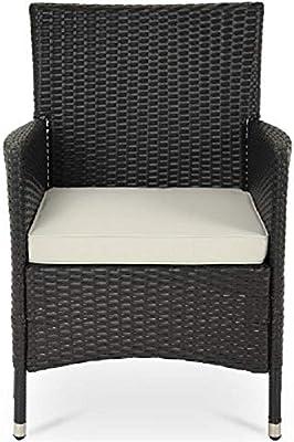 Yunchengyunxiangtong Sillas 7Piece / 1Ponga multifunción jardín Muebles y sillas con Mesa de Comedor Conjunto de Playa, relajación Estilo Simple (Color : Blanco): Amazon.es: Hogar