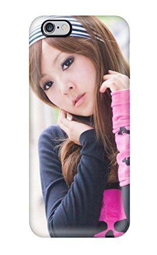 Anti-scratch And Shatterproof Cute Asian Girl Phone Case For Iphone 6 Plus/ High Quality Tpu Case