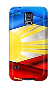 New Filipinos Colors Tpu Case Cover, Anti-scratch CaseyKBrown Phone Case For Galaxy S5