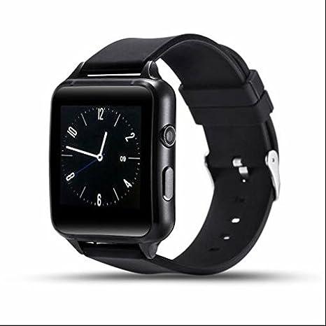 Bluetooth Smart Watch Fitness Tracker Audio y Vídeo Play, diseño ...