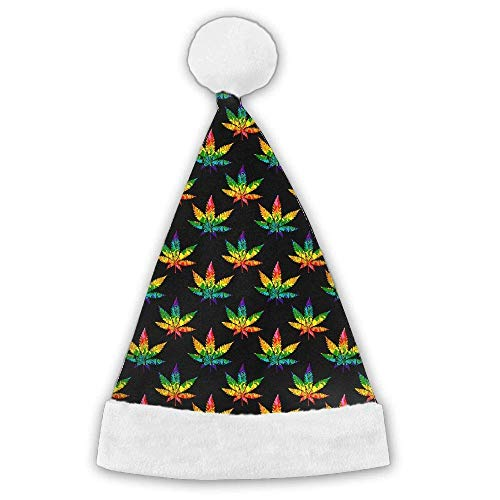 CIliik Merry Christmas Colorful Eco Natural Cannabis Cute Pl