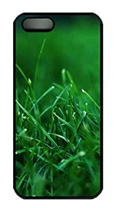 iPhone 5s Case, iPhone 5s Cases - Grass PC Polycarbonate Hard Case Back Cover for iPhone 5s¨CBlack