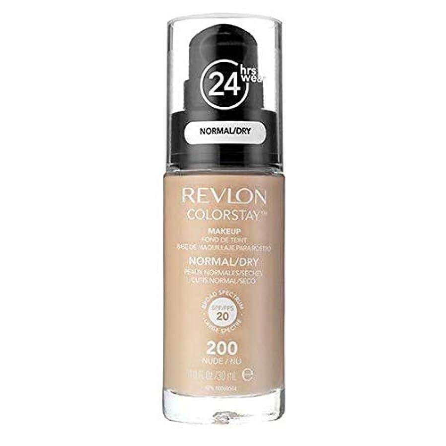 パキスタン引き付けるアーク[Revlon ] レブロンカラーステイ基盤ノルム/ドライヌード30ミリリットル - Revlon Color Stay Foundation Norm/Dry Nude 30ml [並行輸入品]