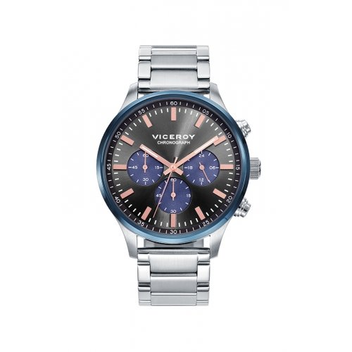 Viceroy 471055-57 watch Chronograph Steel Grey Man