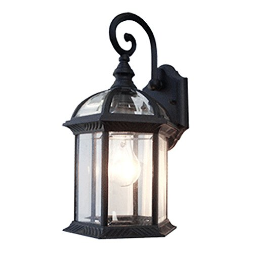 Outdoor Half Lantern Wall Light in US - 3