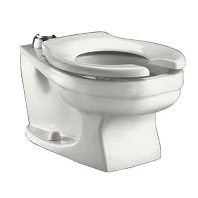 American Standard 2282.001.020 Baby Devoro Universal Flushometer Toilet Bowl Only, White