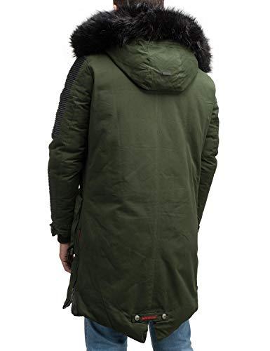 S No D'hiver 5 Homme Couleurs 3xl Marikoo Warrior Vert Pour Parka 1 RqOzw1