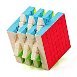 JIAAE 7X7 Rubik's Cube Professional Competition Smooth Rubik Children Puzzle High Difficulty Toy,Colorful