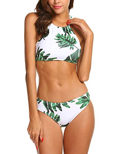 Green And White Bikini in Australia - 3