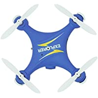 Owill GW009C Mini 2.4G 6 Axis RC Quadcopter Aircraft With HD Camea/Great Gift For Beginners (Blue)