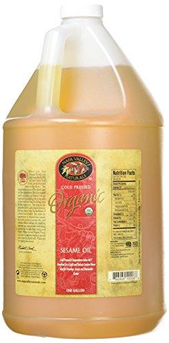 Napa Valley Marinade (Napa Valley Naturals Organic Cold Pressed Sesame Oil, 128 Ounce)
