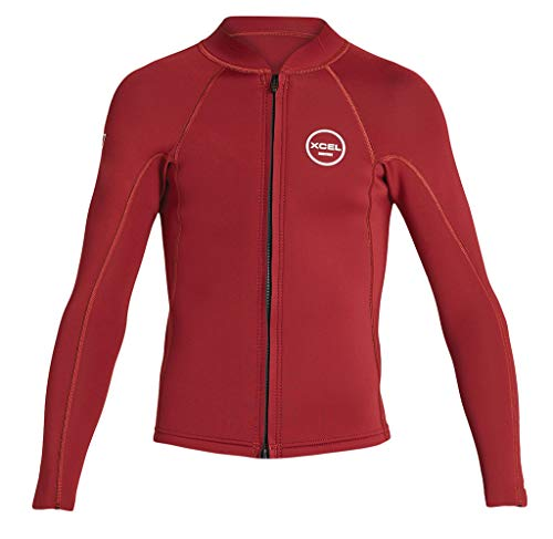 - XCEL 2mm Kid's & Junior's AXIS Front Zip Jacket