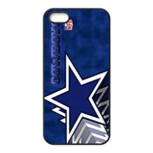 Custom Dallas Cowboys NFL Series Back Cover Case for iphone 5,5S by mcsharks