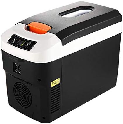 カー冷蔵庫ミニ12Lポータブルクーラー12V 24V 230Vモバイル小型冷蔵庫クーラー静かで、暖かく、冷却、車、旅行、キャンプ、ピクニック、12L(デジタルディスプレイ)ブラック