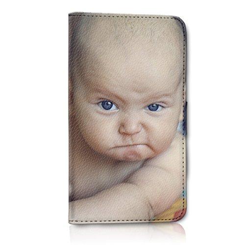 Wallet Book Style Flip Handy Tasche Case Schutz Hülle Schale Motiv Etui personalisiert für Apple iPhone 6 / 6S - Flip MHDD Eigenes Design