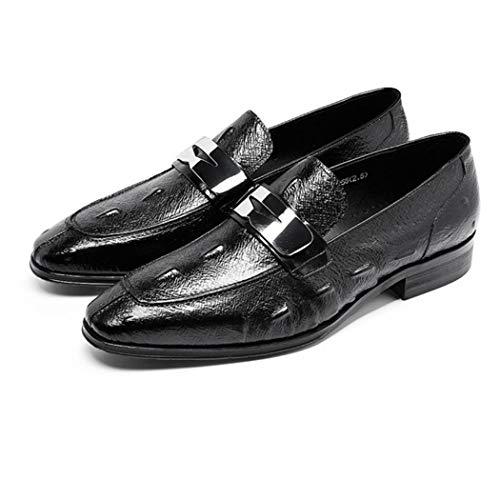 Partito Mens Pelle Formale Classic Style Amici Scarpe Black Scarpe Maschi Da In Sposa Scarpe Invia Amici Essenziali Casual Marito EqgwxYtYv
