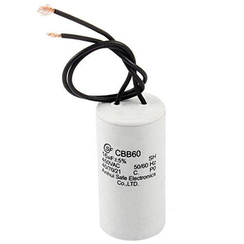 DealMux a14012000ux0551 CBB60 16uF 5/% AC 450V Polypropylen-Folien-Motor Betriebskondensator f/ür Waschmaschine