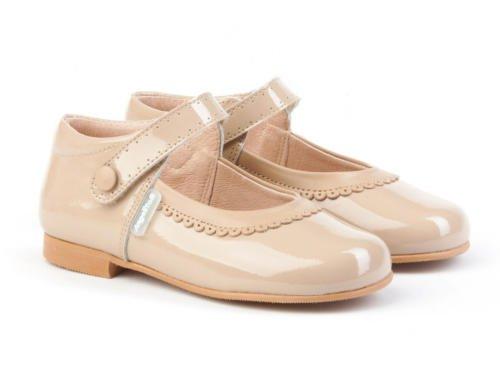 Spain Garantía In De Mod En Todo Charol Merceditas Calidad Para Calzado Infantil Niñas Camel 1508 Made Piel n6WnO7P