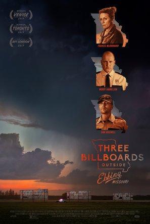 Bildergebnis für Three billboards poster