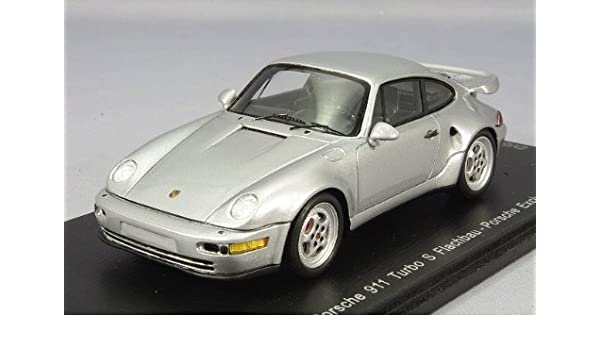 Amazon.com: Spark [Katima custom 1/43 Porsche 911 (964) Turbo S flat nose Silver: Toys & Games