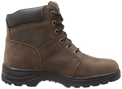 Skechers Work 76561 Peril Dark for Boot Brown Workshire rRaxqrp1wn