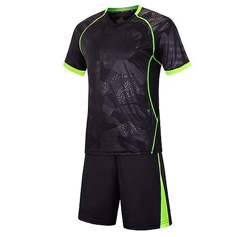 LTGJJ Conjuntos de Camisetas de fútbol Manga Corta Uniformes de ...