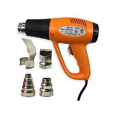 AJ New Dual Temp Heat Gun Paint Stripper Scraper Shrink Wrap 570F-900F, 1200W