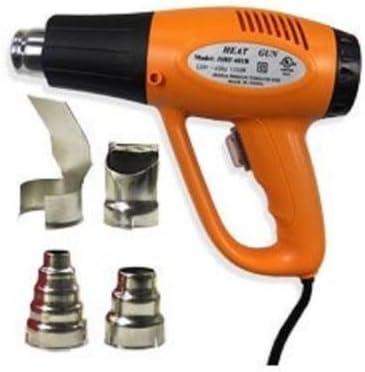 Lumberjack Hot Air Heat Gun Variable Temp Paint Stripper Tool Nozzles /& Scraper