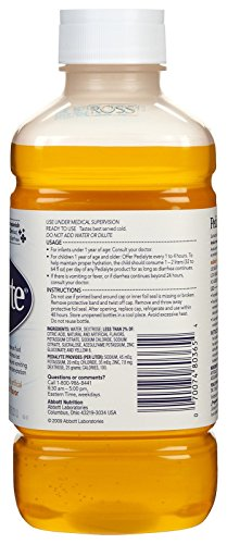 Pedialyte Oral Electrolyte Solution - Fruit - 1 lt - 2 pk by Pedialyte (Image #1)