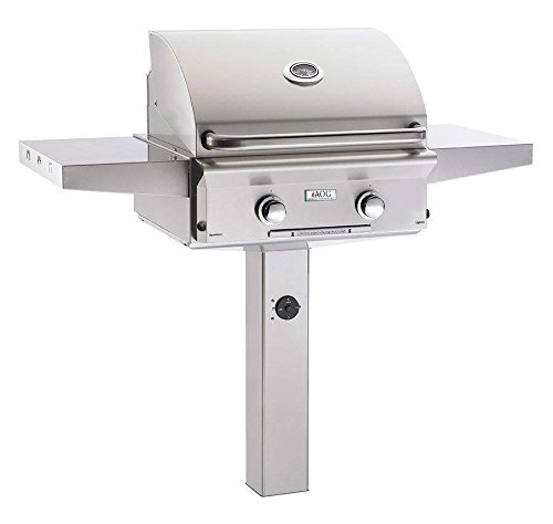 AOG American Outdoor Grill 24NGL-00SP L-Series 24 inch Natural Gas Grill On in-Ground Post
