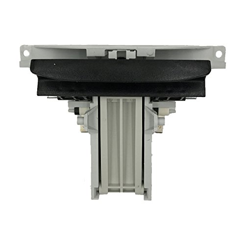 - (RB) WPW10130695 Dishwasher Door Latch Handle Black for Whirlpool Maytag