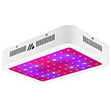 LED Grow Light, Dimgogo 600w Double Chips Full Spectrum Grow Lights with UV&IR for Greenhouse and Indoor Plant Flowering Growing (10W/Led)