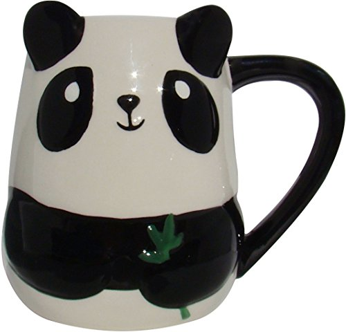 TAG Baby Panda Figural Hand Painted Mug 16 - Figural Painted Hand