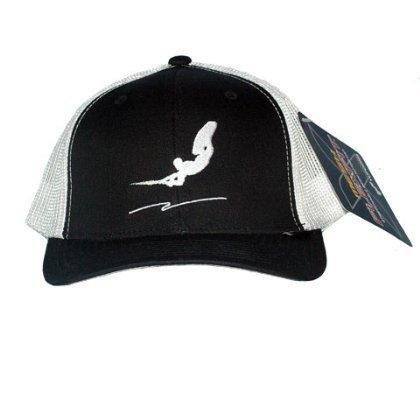 Wakeboarding Trucker Hat - Black White One Size