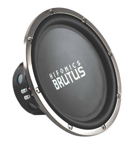 Hifonics BRZ15D4 Brutus Dual Subwoofer, 4-Ohm 600-Watt 15-Inch