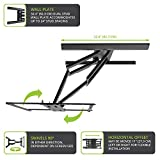 Kanto PMX700 Pro Series Full Motion Articulating TV Wall Mount for 42-inch to 100-inch TVs   Adjustable Positioning   Integrated Cable Management   Toolless Tilt