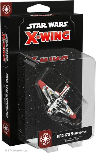 fantasy Flight Games X-Wing 2nd Ed: ARC-170 Starfighter for sale  Delivered anywhere in USA
