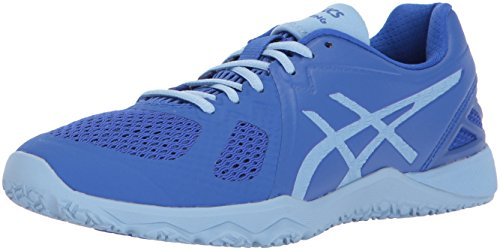 ASICS Womens Conviction X Cross Trainer, Airy Blue Purple, 8.5 Medium US