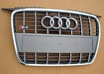 Audi - Parrilla del radiador (repuesto original, para Audi A3 S3, Singleframe): Amazon.es: Coche y moto