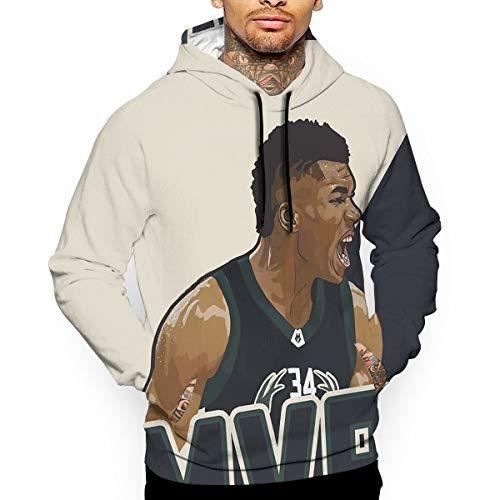 DLAZANA Giannis #34 Bucks Basketball Player Hoodie -