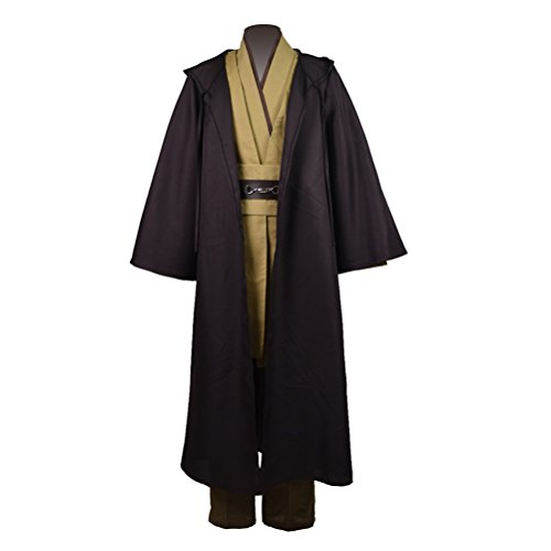Jedi Outfit (Fancycosplay Fashion Men`s Classic Cosplay Robe Tunic Costume Full Set)