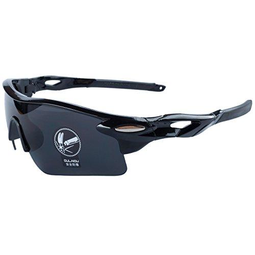 De Al Negro Bicicleta Sol Montura Deportes ANVEY Gafas Ciclismo de Para Gafas Gafas Pesca La Moda Lentes Conducción De Libre Aire Negro agwOwx