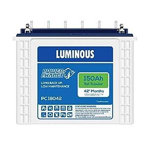 Luminous 150Ah Power Charge PC 18042 Tall Tubular Battery