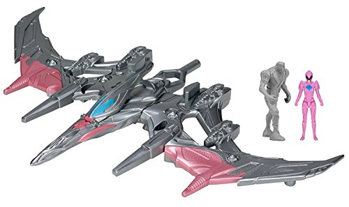 Power Rangers 25917 Movie Pterodactyl Battle Zord With Pink Ranger Figure (Mighty Morphin Power Rangers Zords)