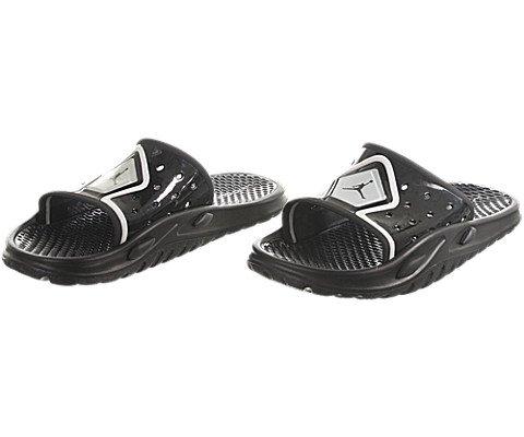 Air Jordan Camp Slide 3 - Black / Black-White, 8 D US
